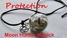 Protection Witch Ball Talisman Amulet Charm Pagan Wiccan Reiki Protection Spell