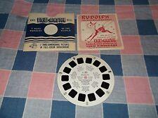 ksm. gaf View-Master FT-25 Rudolph the Red-Nosed Reindeer   Booklet & Reel