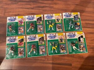 Lot of (8) 1990 NFL Starting Lineup football figures in Packages - Reggie White