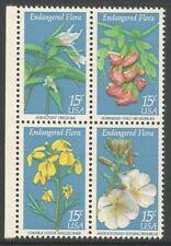 Sellos de Estados Unidos de flores