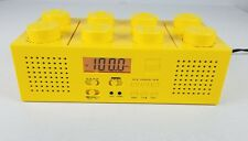 LEGO PORTABLE BOOMBOX AM/FM RADIO CD PLAYER LG11005 RARE YELLOW  BRICK TESTED