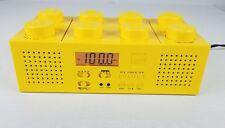 LEGO PORTABLE BOOMBOX AM/FM RADIO CD PLAYER LG11005 RARE YELLOW  BRICK TESTED