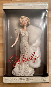 Marilyn Monroe Barbie Doll, Collector Edition, Timeless Treasures, 2001 Mattel