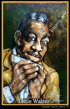 Little Walter Jukein' Poster by Cadillac Johnson