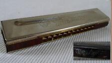 """HARMONICA  """"golden cup""""  métal et bois"""