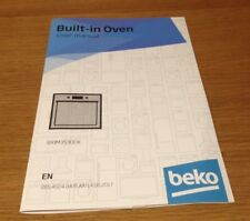 Genuine BEKO BMIX35300X Built In Oven Instruction Manual User Guide