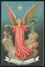 Christmas Angel Toys serie 5015 postcard TC2982