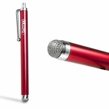 RED Timri Micro-Fibrer Tip STYLUS PEN FOR IPHONE SAMSUNG GALAXY//KINDLE TABLET