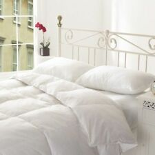 GOOSE FEATHER AND DOWN DUVET. 13.5 TOG. SIZE- SINGLE, DOUBLE, KING & SUPER KING