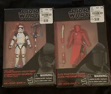Star Wars Black Series First Order Stormtrooper Executioner Praetorian Guard MIB
