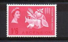 Ascension 1963 Freedom from Hunger MNH set S.G. 84