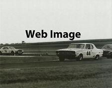 Vintage 8X10 Auto Racing Photo 1967 Daytona Trans Am Dodge Dart & Two Mustangs
