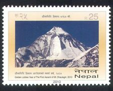 Nepal 2010 Mt Dhaulagiri/Mountains/Climbing/People/Sports/Nature 1v (n38956)