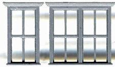 Victorian Window Set N Model Railroad Structure Plastic Detail Gl8020