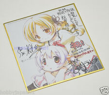 Puella Magi Madoka Magica Movie Rebellion Autograph Board Mami Nagisa