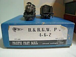 HO DCC/Sound Brass PFM D&RGW P44 4-6-2