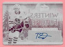 16/17 Leaf Metal Winter Future Ryan McLeod Magenta Printing Plate Autograph #1/1