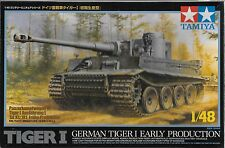 1/48 Tamiya 32504 - German WWII Tiger Tank Early Production  Plastic Model Kit