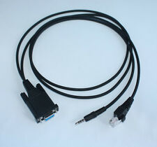 2IN1 Programming Cable for YAESU VERTEX GX-5800 GX-5810 VXR-5000 VX-510