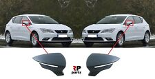 FOR SEAT LEON 2012 - 2018 NEW WING MIRROR COVER CAP PRIMED PAIR SET