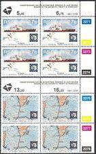 RSA 1991 Antarctic/Ship/Penguins/Maps/Birds/Polar/Nature/Transport 2v c/bs b1309