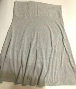 Old Navy Women's Skirt Spandex A Line Stretch Gray Size L.