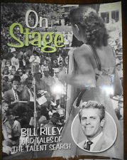 ON STAGE BILL RILEY IOWA STATE FAIR TALENT SEARCH SHOW HISTORY PERFORMERS SIGNED