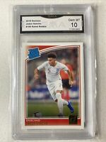 2018-19 Jadon Sancho Panini Donruss Rated Rookie  #189 GEM MINT 10