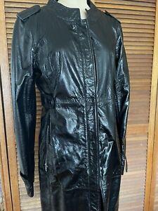 Nolita Leather Coat Size S