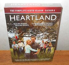 Heartland: The Complete Sixth Season (DVD, 2013, 5-Disc Set, Canadian) BRAND NEW
