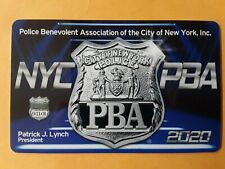NASSAU COUNTY NY POLICE 2019 PBA CARD BRAND NEW RARE