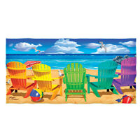 Dawhud Direct Selfie Cotton Beach Towel Beach Party