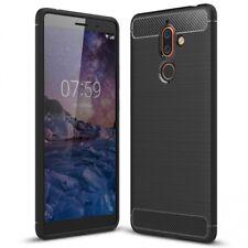 Nokia 7 Plus Handy Hülle von NALIA, Dünnes TPU Silikon Cover Case Schutz Bumper