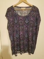 NEW ladies Size 1X 20/22 Top MICHAEL KORS Tunic Plus Size Lovely Quality