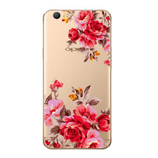 for Apple iPhone 6 6s Case Patterned Print Retro Red Flower Shockproof Cover