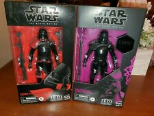 "Star wars black series 6"" Purge Stormtrooper & Electrostaff Purge Trooper"
