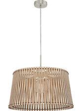 """Deckenleuchte, Lampe, Deckenlampe Eglo """"SENDERO"""" Holzschirm 30 cm    756043"""