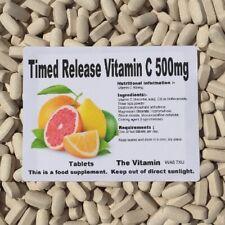 Los Vitamina Libearción Controlada Vitamin C 500mg 120 Tabletas - Embolsado