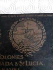 WW1 c1916 Gift of the Colonies to British Forces Chocolate Tin