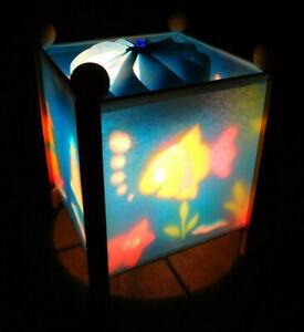 Aquarium Magic Spinning Lamp Night Light Fish