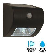 Motion Sensor PIR Solar Powered LED Outdoor Security Wall Light Driveway Garden