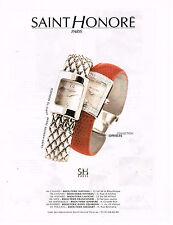 PUBLICITE ADVERTISING 025  1999  SAINT HONORE  montre collection OPHELIA