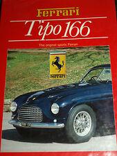 Ferrari tipo 166 Angelo Anselmi Giuseppe saben Aurelio Lampredi Franco Cortese
