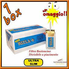 2400 Filtri RIZLA ULTRASLIM 5.5 mm 5.7mm - 20 scatole da 120 Ultra Slim 1 BOX