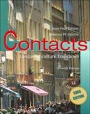 Contacts : Langue et Culture Françaises by Jean-Paul Valette and Rebecca M....