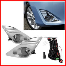 For 12-14 Toyota Camry Bumper Fog Lights Driving Lamps Set Pair Assembly Kit Oe