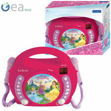 Lexibook CD Player Disney Princess RCDK100DP with Dual Microphones