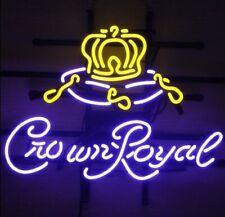 "New Crown Royal Bar Cub Party Light Lamp Decor Neon Sign 17""x14"""