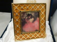 Faberge Imperial Coronation Picture Frame Brand New Mint In Box Rare