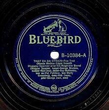 MUGGSY SPANIER and his Ragtime Band on 1939 Bluebird B-10384 - That Da Da Strain